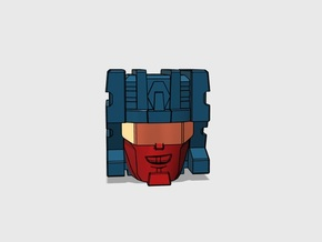 """Paranoid Streetracer Head G1 """"Toy"""" in Smooth Fine Detail Plastic"""