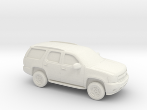 1/87 2006-14 Chevrolet Tahoe in White Natural Versatile Plastic