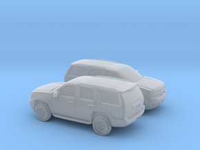 1/160 2X 2006-14 Chevrolet  Tahoe in Smooth Fine Detail Plastic