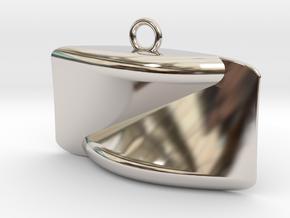 gold Pendant in Platinum