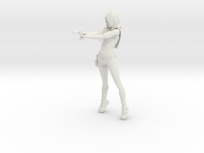 Rei: Zombie Hunter [Rei Saga] model kit in White Natural Versatile Plastic