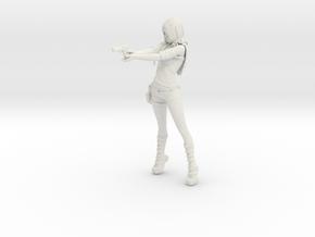 Rei: Zombie Hunter [Rei Saga] model kit in White Strong & Flexible