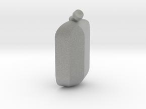 Secret Pedant in Metallic Plastic