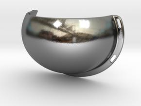 Bikini Cage Style 1 in Polished Silver