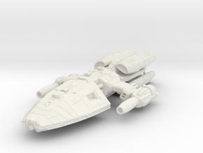 Helion-3 in White Natural Versatile Plastic