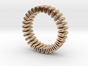MYTO U // Mitochondria Ring in 14k Rose Gold Plated Brass