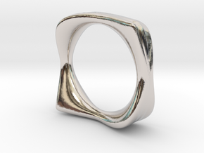 Ring It (the can) in Rhodium Plated