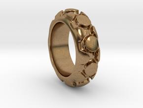 Onix in Raw Brass
