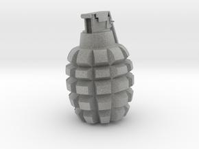 Grenade in Metallic Plastic