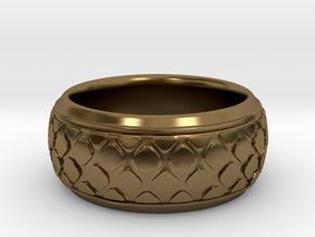 PATTI bangle  in Polished Bronze