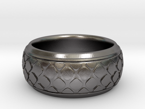 PATTI bangle  in Polished Nickel Steel