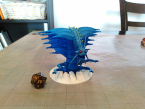 Remorhaz in White Natural Versatile Plastic