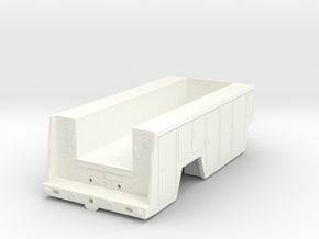 Frederick Harvesting Service Bed w/ angle fenders in White Processed Versatile Plastic