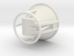 Concrete Bucket 1/50 large in White Natural Versatile Plastic
