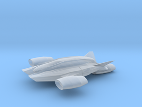 Luxury VTOL in Smooth Fine Detail Plastic