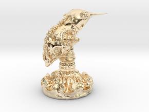 Mimic Humminbird in 14K Yellow Gold