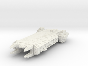 carrier ship in White Natural Versatile Plastic