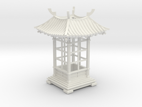 Japanese Pavilion Votive Shade in White Natural Versatile Plastic