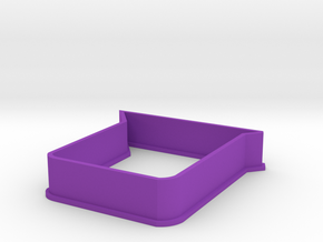 Beaker cookie cutter in Purple Processed Versatile Plastic