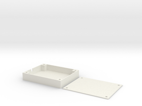 Z84 Wing Wing - GPS Tray in White Natural Versatile Plastic