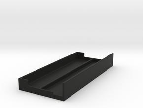Pigini Sirus Base Registers Protector in Black Natural Versatile Plastic