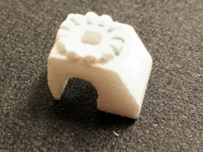 Ten4 Front Tensioner Base in White Processed Versatile Plastic