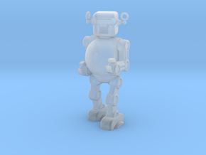 Retro 50's Toy Robot in Smooth Fine Detail Plastic