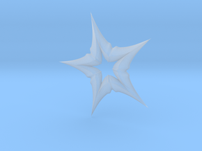 Star In A Star Distortion in Smooth Fine Detail Plastic