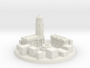 Stalingrad Victory City Marker in White Natural Versatile Plastic