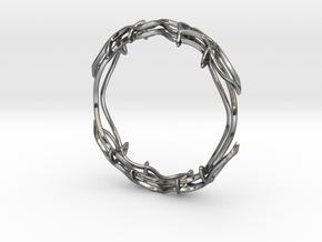 Bracelet in Polished Silver