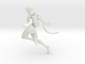 Ninja girl no base in White Strong & Flexible