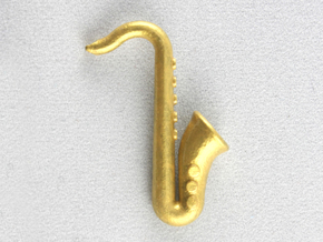 Saxophone in Frosted Extreme Detail