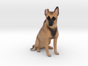 Custom Dog Figurine - Lyja in Full Color Sandstone