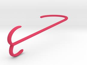 Shades Hanger in Pink Processed Versatile Plastic
