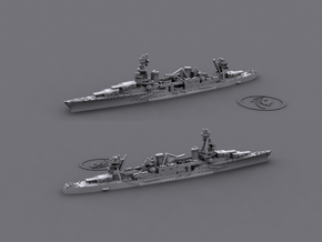 1/2400 US CA29 Chicago / CA31 Augusta [1942] (x2) in Smooth Fine Detail Plastic