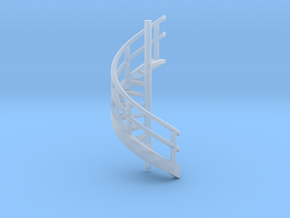 N Scale Revolving stairs in Smooth Fine Detail Plastic