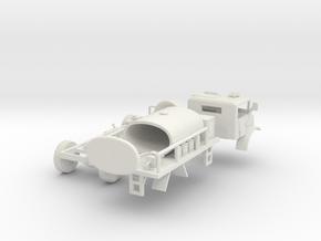 Bush Fire Bridage Truck(S/1:64 Scale) in White Natural Versatile Plastic