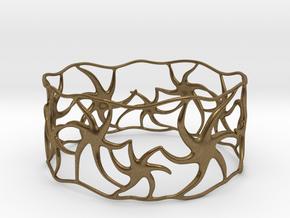 Star Bracelet in Natural Bronze