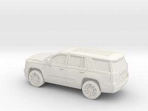 1/87 2015 Chevrolet Tahoe in White Natural Versatile Plastic