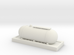 Fuel tank ho guage in White Natural Versatile Plastic