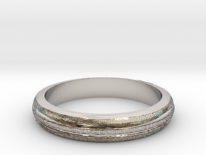 Ring Hilly Full in Platinum