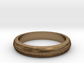 Ring Hilly Full in Natural Brass