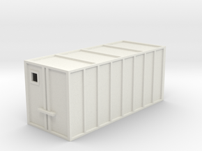 Container-HO gauge  in White Natural Versatile Plastic