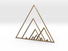 Triangles in Natural Brass