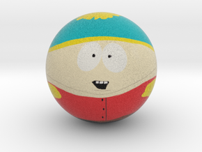 Cartman Marble Ball in Full Color Sandstone