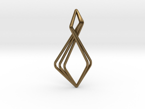 N-Line No.6 Pendant. Natural Chic in Natural Bronze