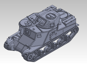 1/87 Cruiser Tank M3 Grant in Smooth Fine Detail Plastic