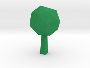 Ashen Green in Green Processed Versatile Plastic