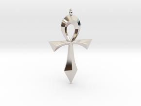 Toschlog Special Swept Ankh in Platinum