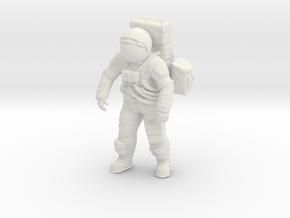 1: 16 Apollo Astronaut a7lb Type in White Natural Versatile Plastic